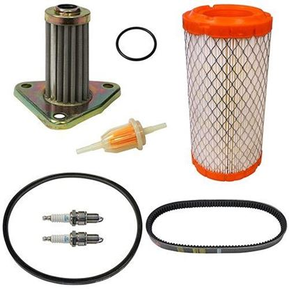 Picture of Deluxe Tune Up Kit, E-Z-Go 295/350cc 4-cycle Gas 96+ with Oil Filter
